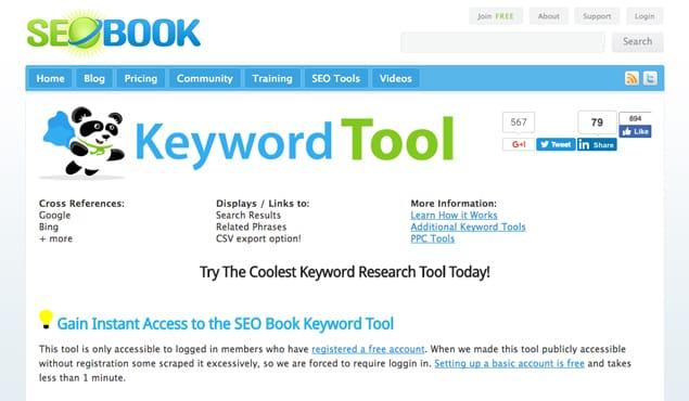 SEOBook Website