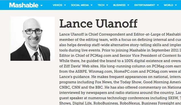 Chief Editor Example