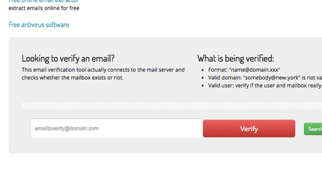 Email Verifier Website