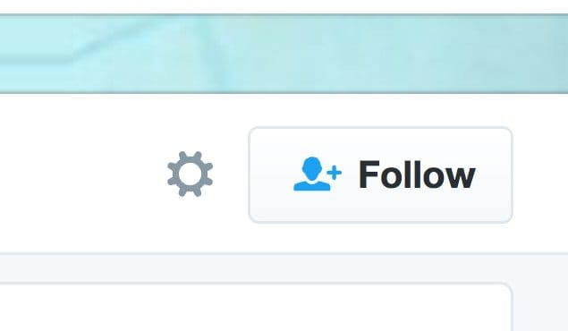 Following Someone on Twitter
