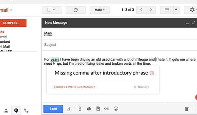 Spell Check Gmail