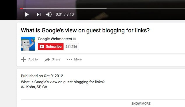 Guest Blogging for Links