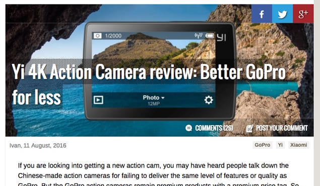 Product Review Blog Post