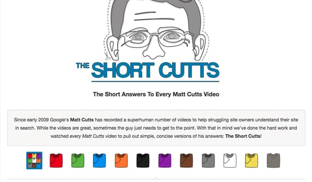 ShortCutts Website