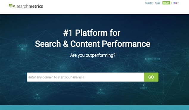 Search Metrics Website