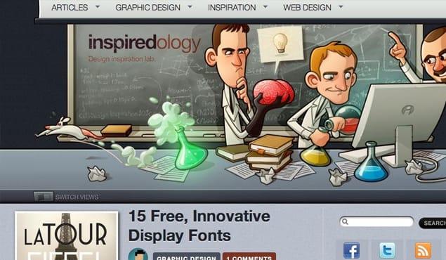 Unique Blog Design