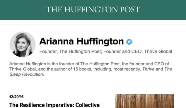 Ariana Huffington
