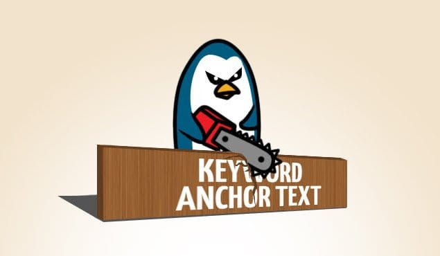 Keyword Anchors Overoptimized