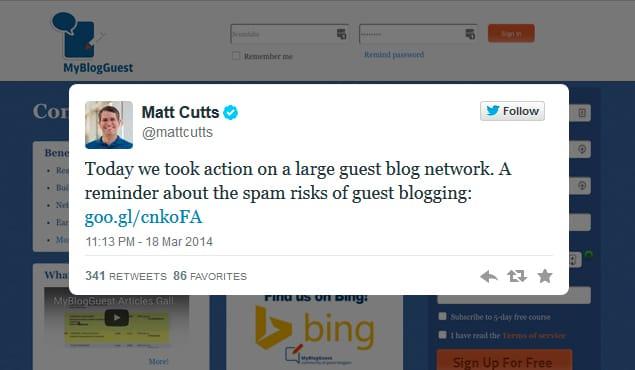 Manual Action MyBlogGuest