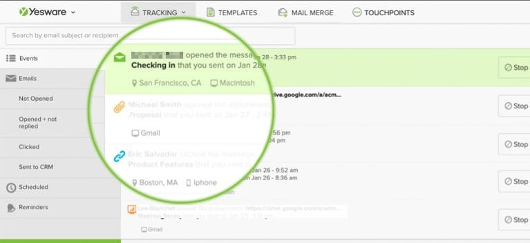 Email Opened Tracking