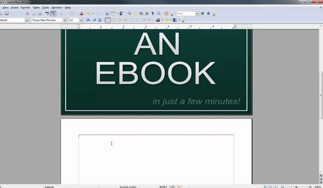 Creating an eBook