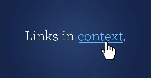 Contextual Links Example