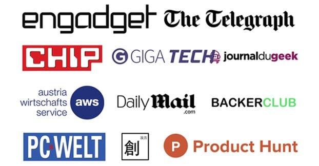 Example PR Logos