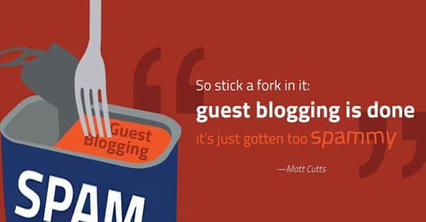 Matt Cutts Guest Blogging Done