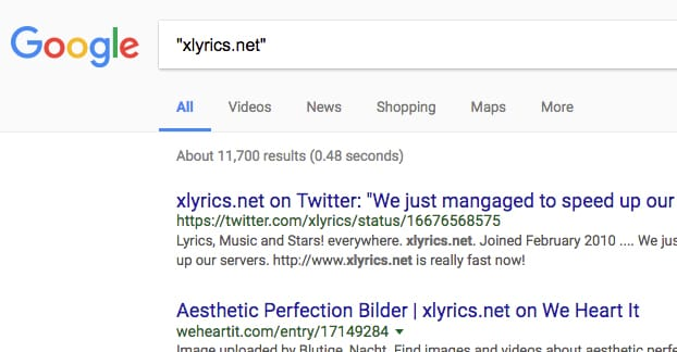 Website Not Found on Google