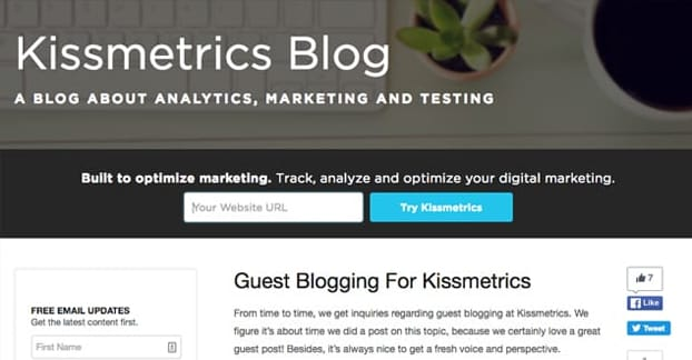 Example Guest Blogging Guidelines