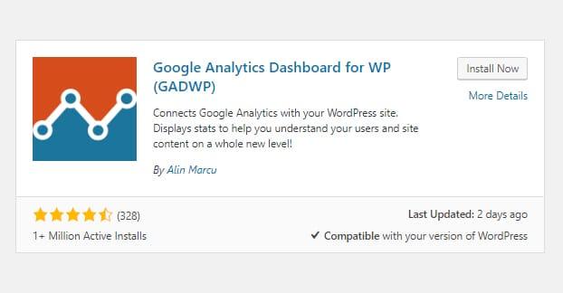 Google Analytics for WP