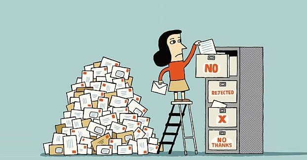 Rejection Illustration