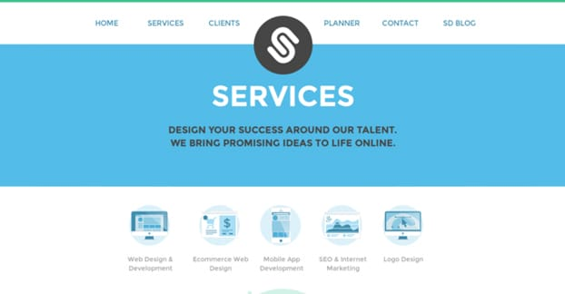 Website Services Page
