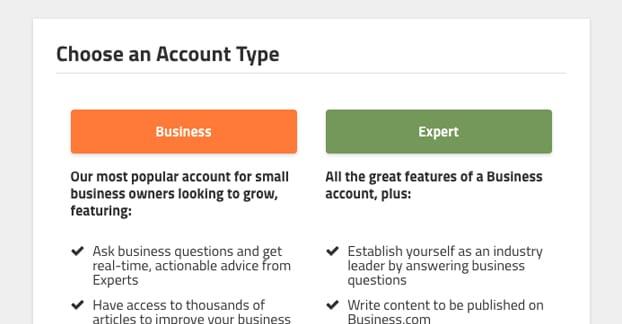 Expert Account