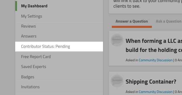 Pending Status Dashboard