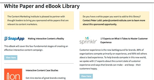 Whitepaper eBook Library