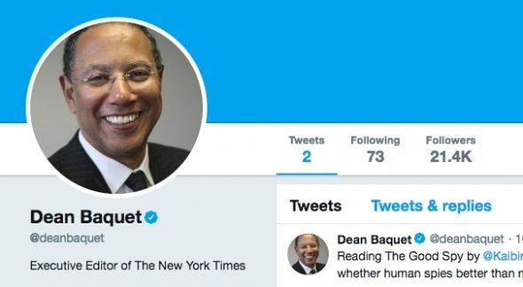 Editor NYT