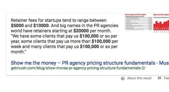 PR Firm Cost