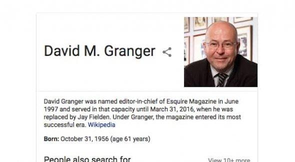 David Granger Bio
