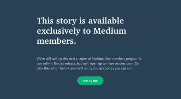 Medium Exclusive Content
