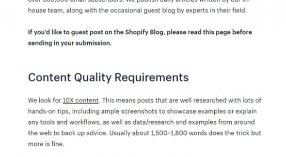 Guest Post Guidelines