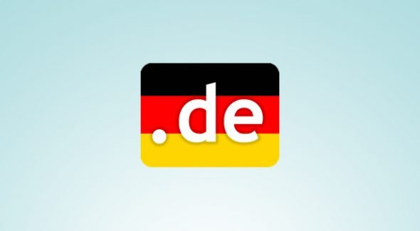 German Domain Extension Illustration