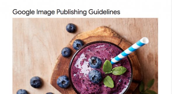 Image Publishing Guidelines