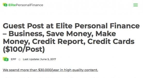 ElitePersonalFinance