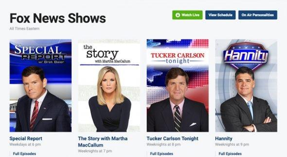 Fox News Shows