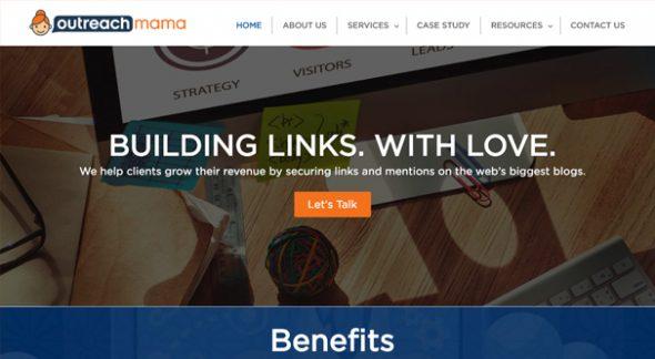 OutreachMama Homepage