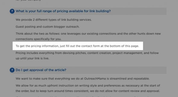 Pricing for Guest Posts