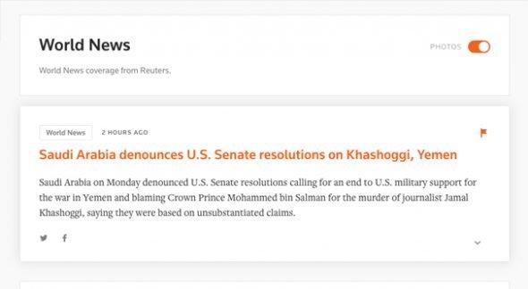 Reuters Breaking News Stories