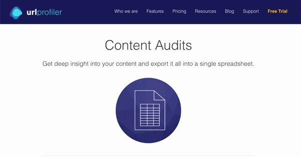 URL Profiler Content Audit