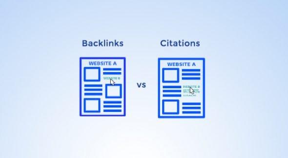 Backlinks vs Citations